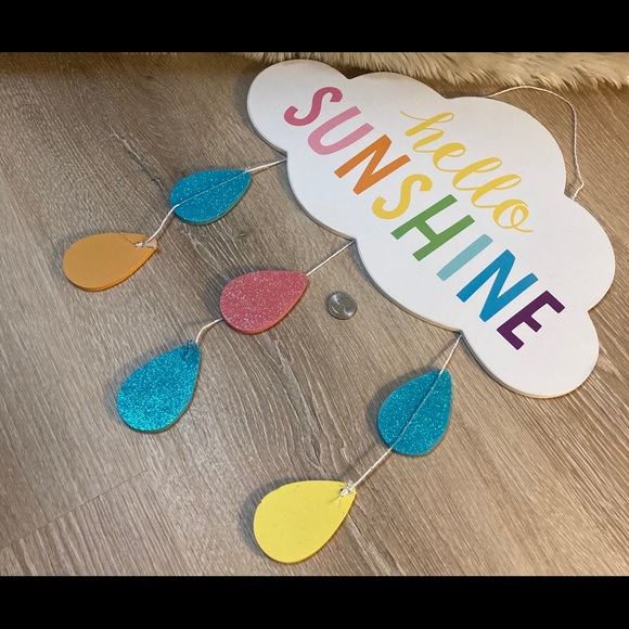 Sunshine cloud decor